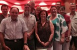Bob Chizzoniti with some of the Licensees at the POAAL meeting in Nambour (Sunshine Coast)