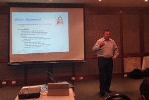 John Rule from Brands Australia talking about passport photo standards
