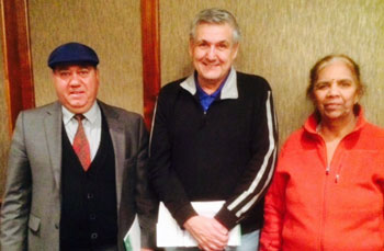 POAAL Victorian Branch Committee member Joe Spiteri with fellow Licensees at the POAAL meeting in Melbourne