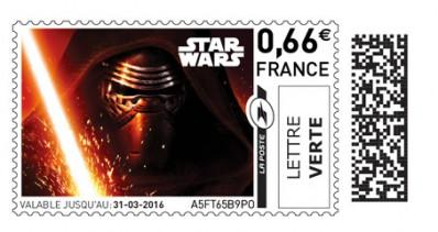 La Poste Star Wars stamps