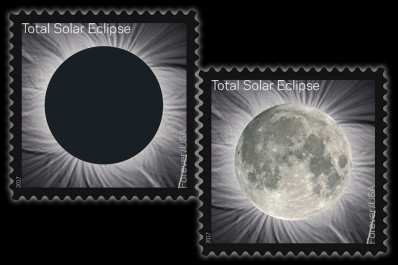 USPS Total Eclipse stamp issue