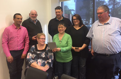Some of the Licensees at the POAAL meeting in Adelaide