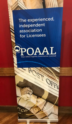 Look for Bob ... and the POAAL banner!