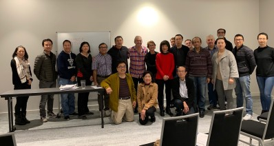 POAAL WA Branch Chairman Robert Angriawan with POAAL's Chris Campbell and some of the Licensees who attended POAAL's information session